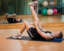 نتیجه تصویری برای تصاویرSciatic mobilising stretch